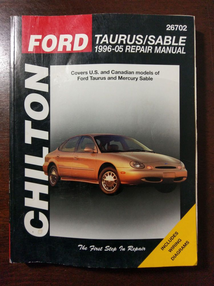 ford taurus mercury sable 1996 2005 repair manual by chilton rh pinterest co uk 1993 Mercury Sable 1994 Mercury Sable