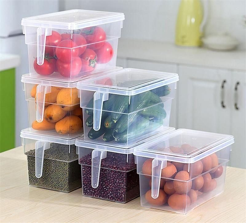 Kitchen Transparent Pp Refrigerator Organizer Food Refrigerator Storage Diy Kitchen Storage