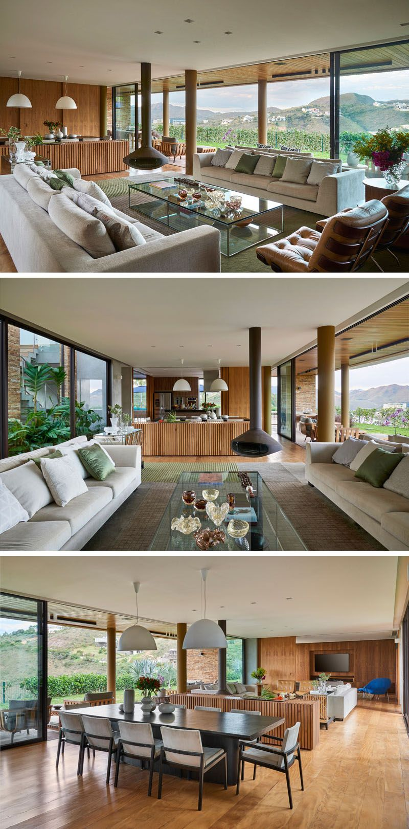David Guerra Designs A Home In Brazil For A Family That Enjoys  # Muebles Sayez Martorell