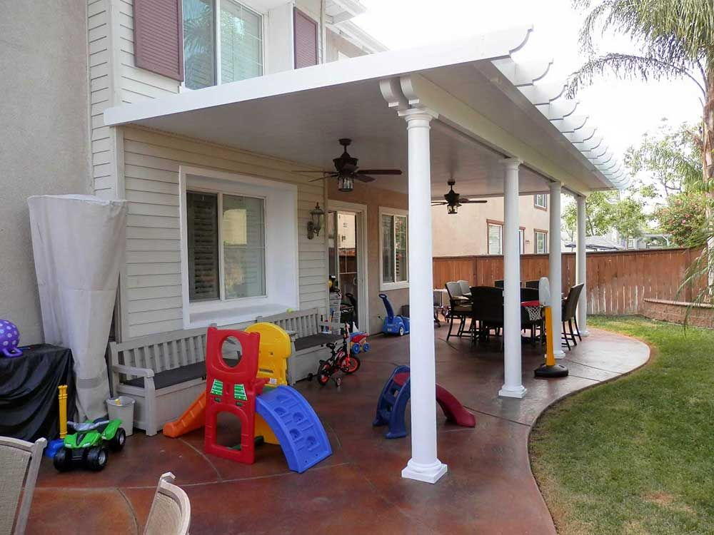 Gentil Orange County Solid Patio Covers From California Construction Are Far  Superior To Wood Patio Covers.