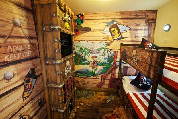 New Legoland Hotel Has Built-In Treasure Hunt [Pics ...