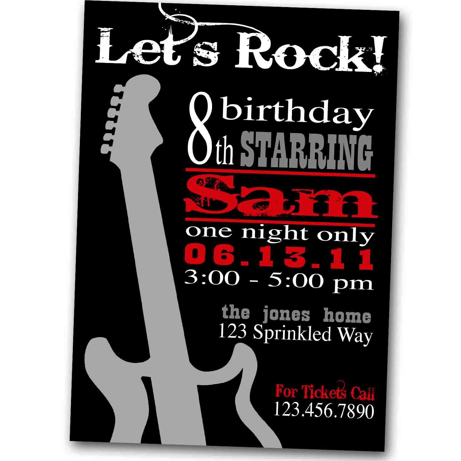 Pin by Ylime Suz on Rock N Roll Birthday party | Pinterest | Birthdays