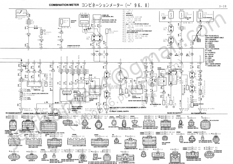 Toyota Mark 2 Jzx90 Wiring Diagram Detailed Inside 1jz Engine