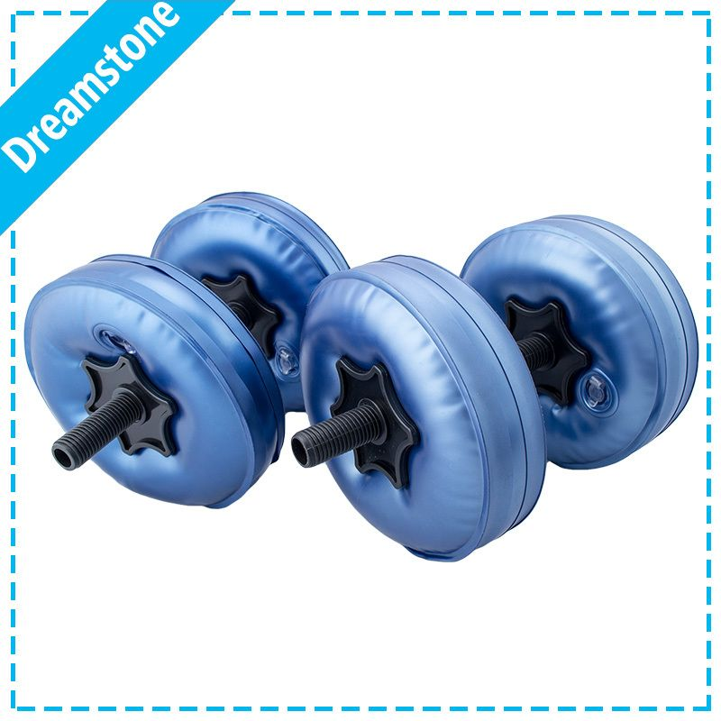 Free Shipping 2016 New Arrival Fittness Adjustable Weight Water Filled Dumbbell 4 Bags Set Muscle Building Gym E Muscle Body Dumbbell Best Adjustable Dumbbells
