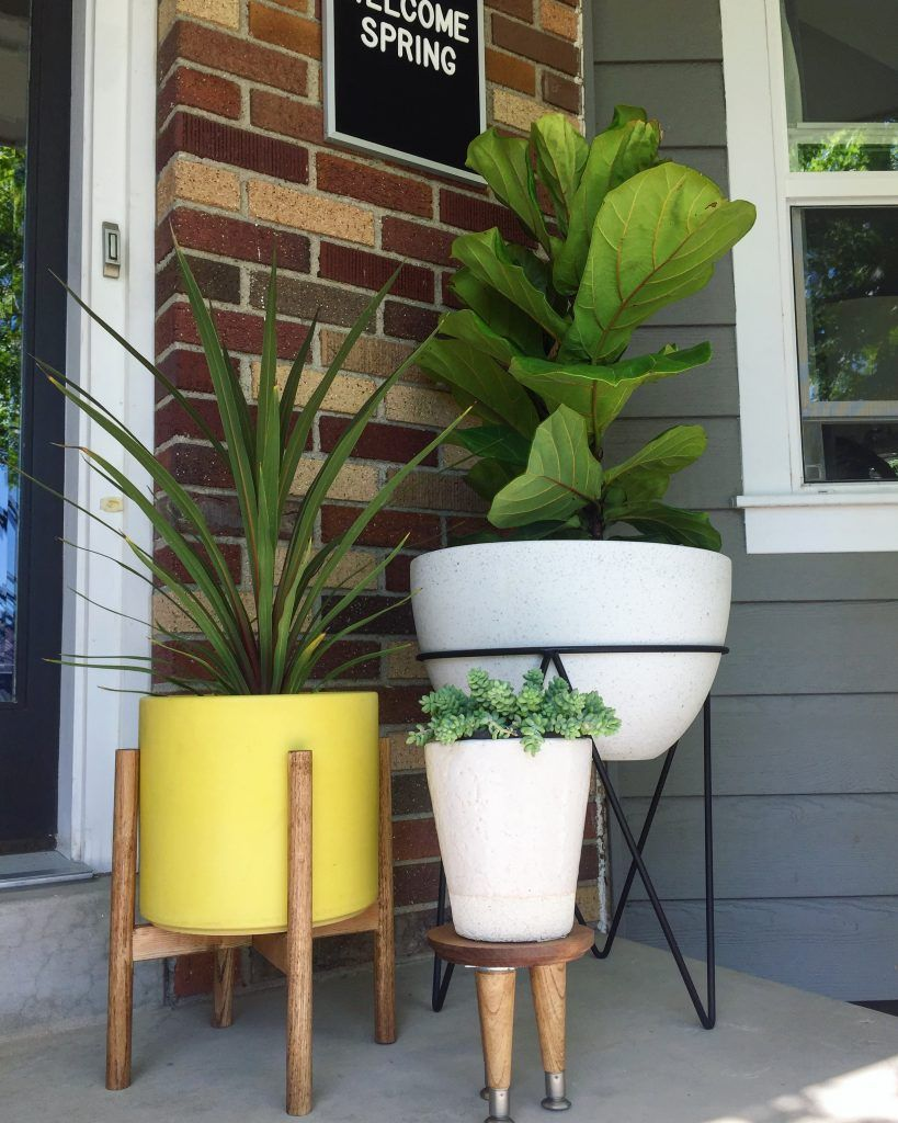 Modern Plant Stand Diy Front Porch