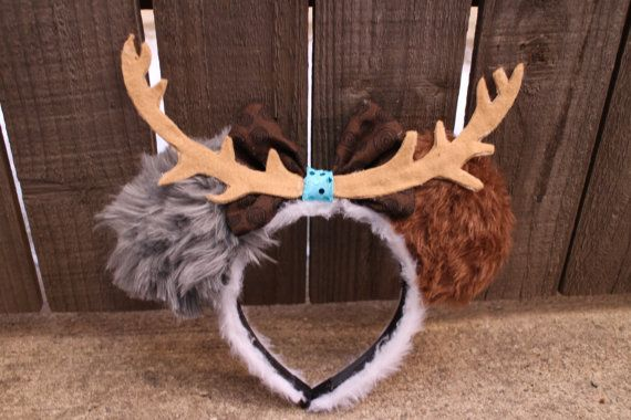 Hey, I found this really awesome Etsy listing at https://www.etsy.com/listing/259295448/sven-frozen-inspired-mouse-ear-headband