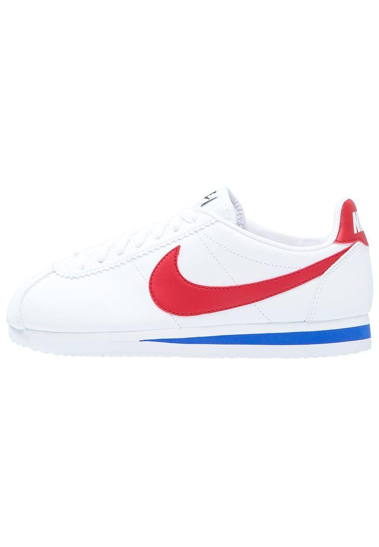promo code 0e873 a0de5 Nike Sportswear CLASSIC CORTEZ LEATHER - Sneaker low - white varsity red varsity  royal