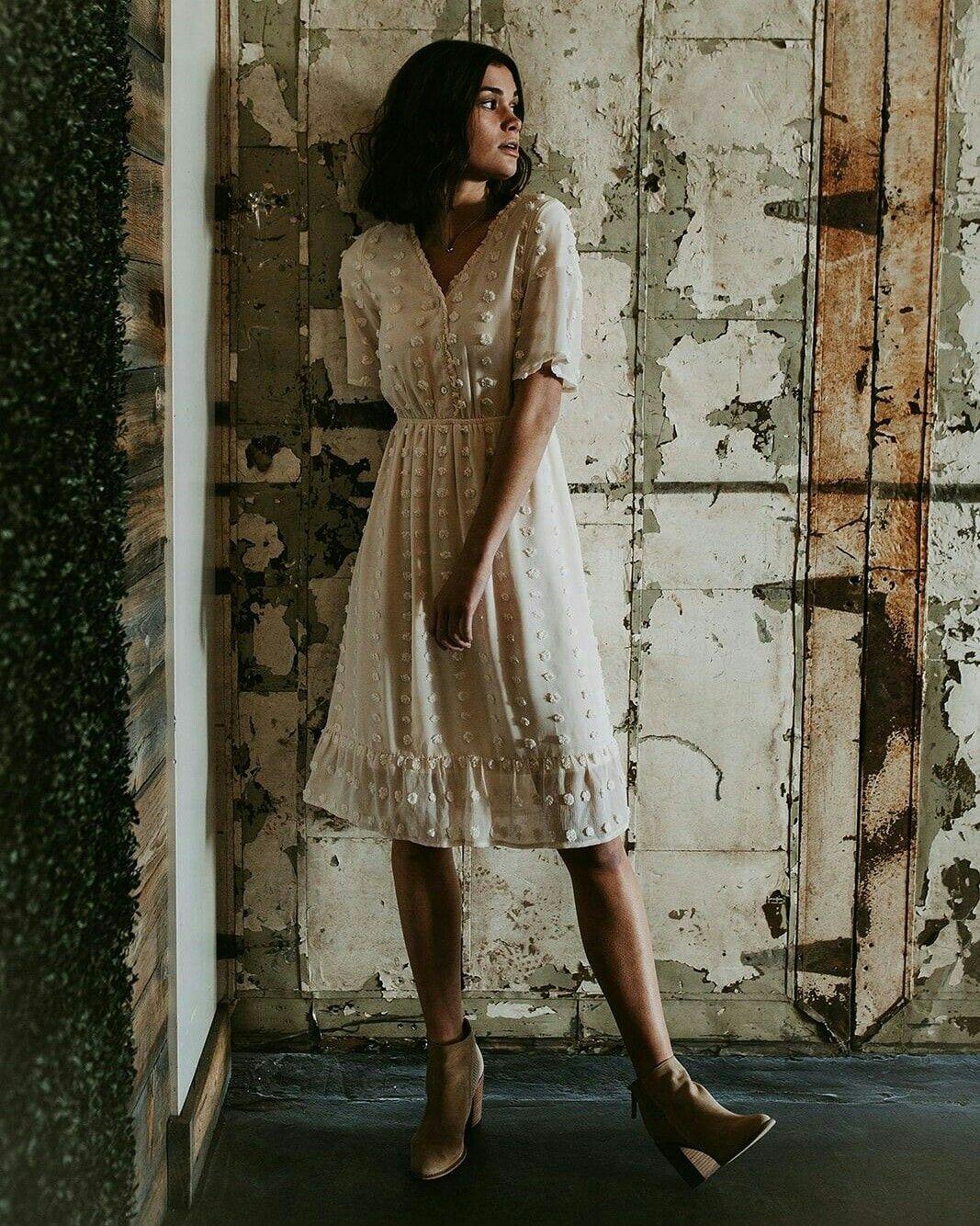 Boho Fashion Ideas For Hippie Women in 17  Cream dress outfit