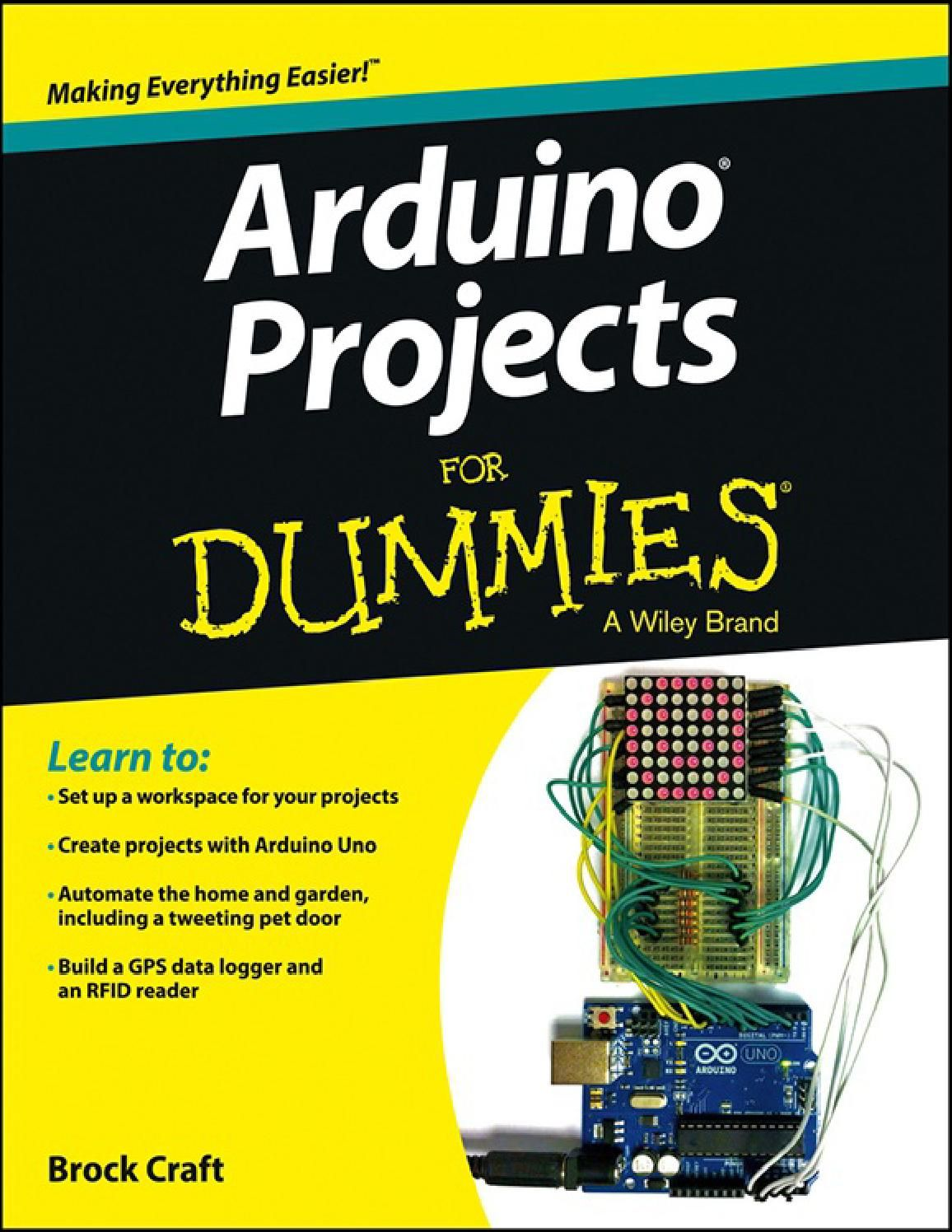 Arduino Projects for Dummies | Elektro, Elektrotechnik und gute Ideen