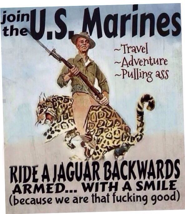 Best Recruiting Poster : USMC