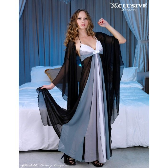 nightgown and robe sets | Nightgown and robe set soft touch ultra ...