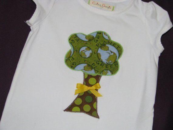 Happy Planet  Applique Shirt or onesie  BOY or by curiousgeorgia, $19.00