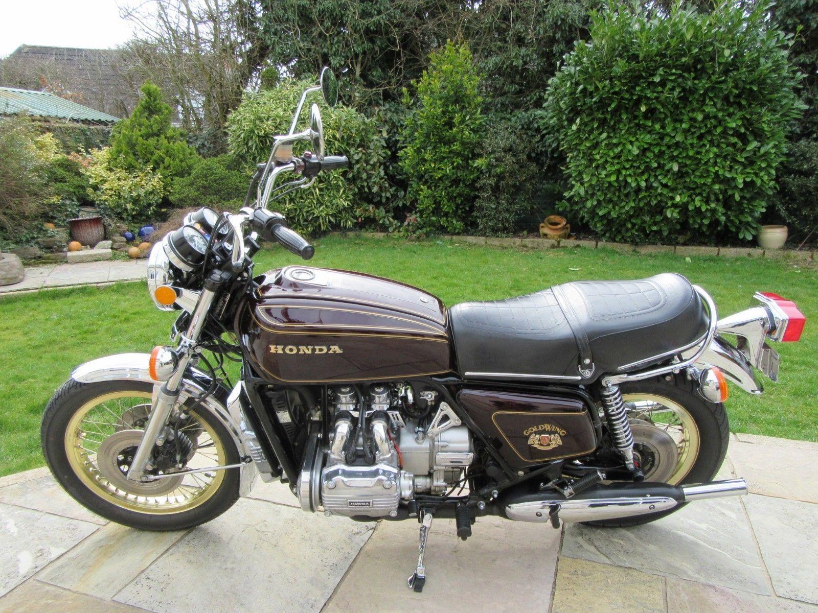 Ebay 1976 Honda Gold Wing Gl1000 Ltd Honda Goldwing Motorcycles Japanese Motorcycle