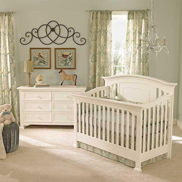 White Or Espresso Nursery White Baby Cribs Baby