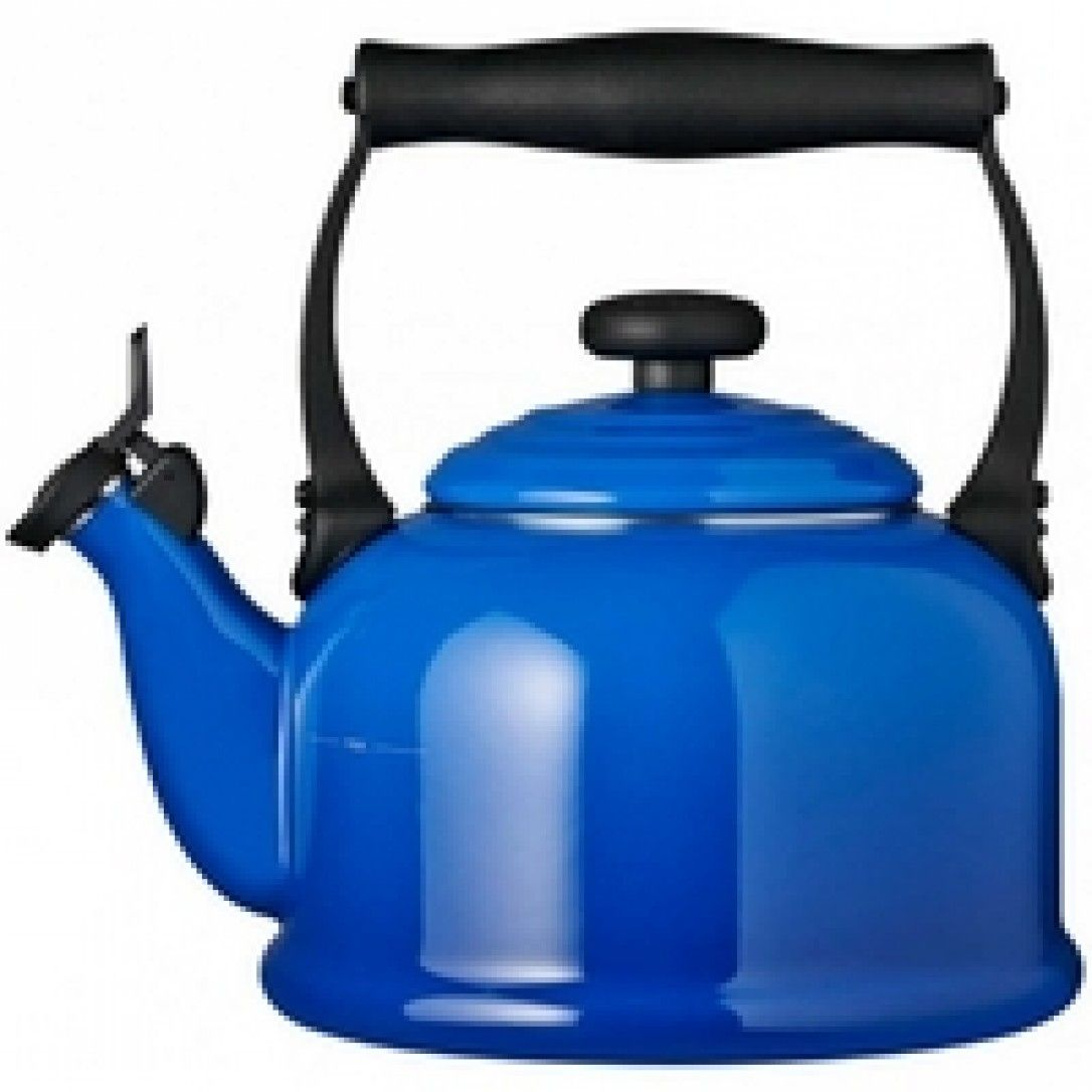 Le Creuset Traditional Stove Top Kettle Marseille Blue Le Creuset Traditional Kettles Kettle Stovetop Kettle