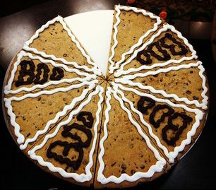 Cookie Cake By The Slice At Your Local Mrs Fields Store Mrs Fields Cookies Cookie Cake Halloween Treats