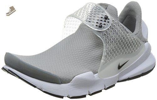 Nike Womens Sock Dart Running Trainers 848475 Sneakers Shoes (US 8 medium grey black white 001)