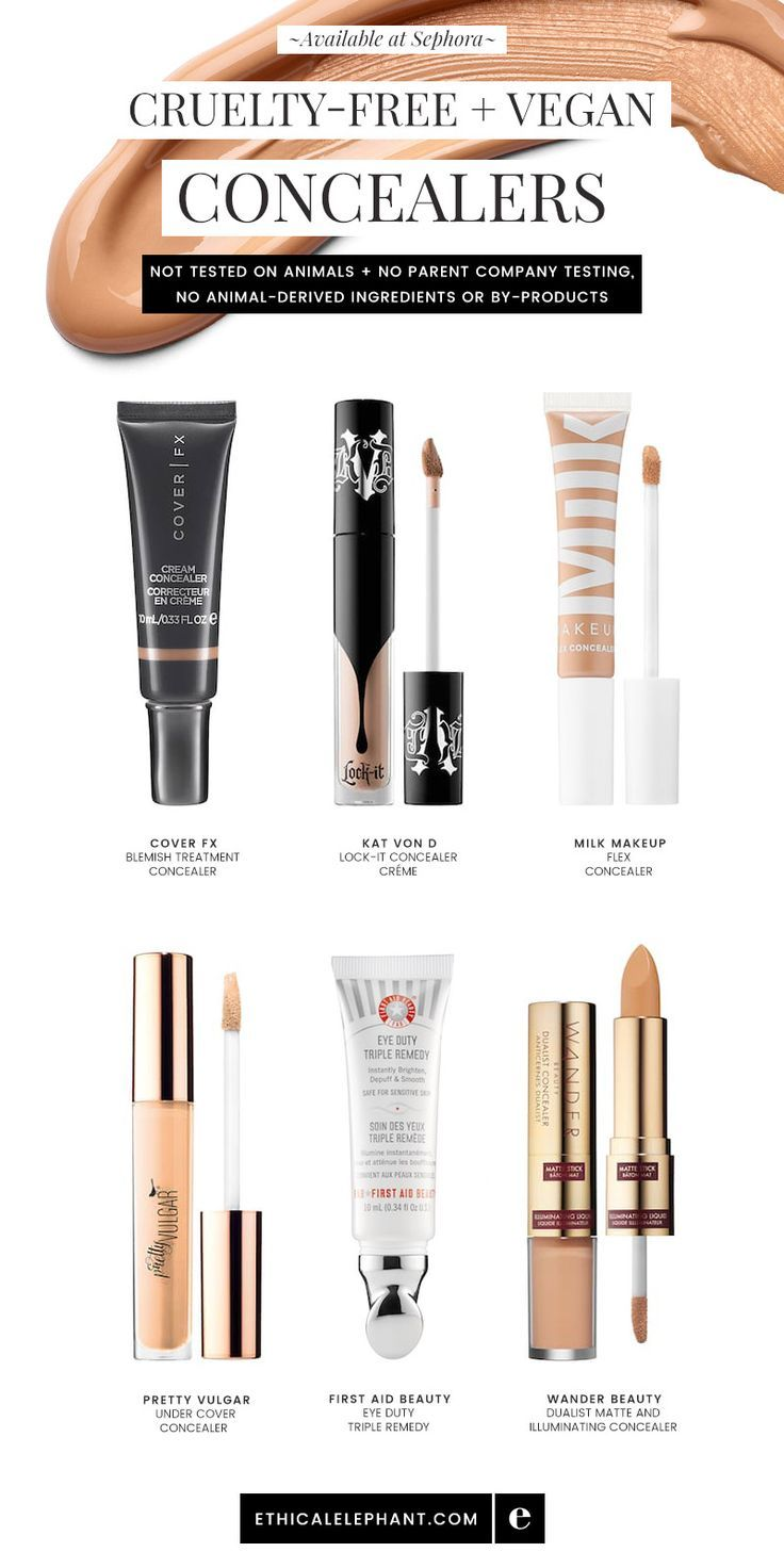 CrueltyFree & Vegan Concealers Cruelty free makeup