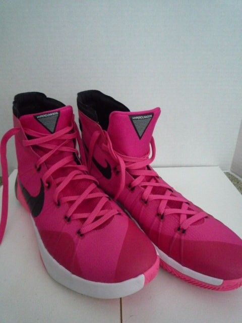 timeless design 27a7d d75f7 ... australia nike hyperdunk 2015 pink breast cancer think pink 749561 606  mens size 13 fashion clothing