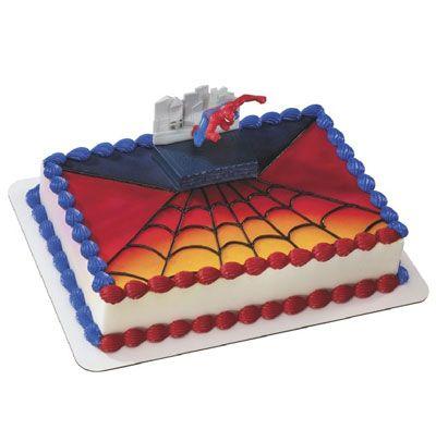 Hy Vee Decorated Cakes Spiderman Birthday Greeting