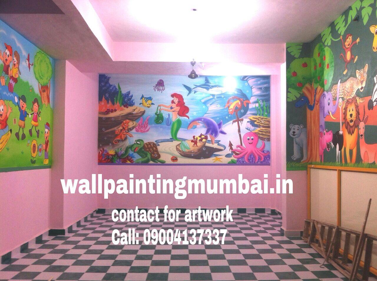Play School Wall Art Playschool Or Preschool Classroom