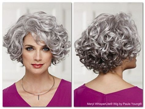 Wavy and Curly Hair Models - Life After 50 - Hairstyles for  - Badezim... -