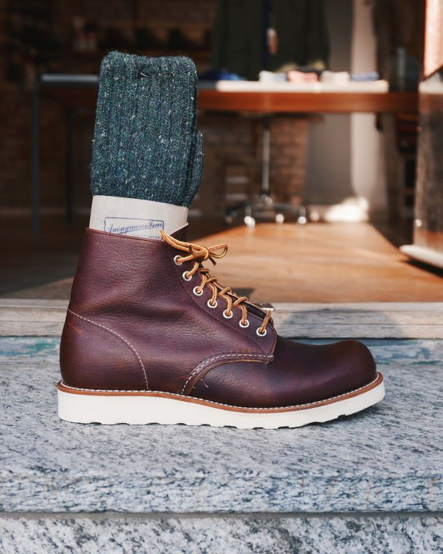 Red Wing - 8196 Classic Round   Boots in 2019   Red wing shoes, Red ... b883669541f