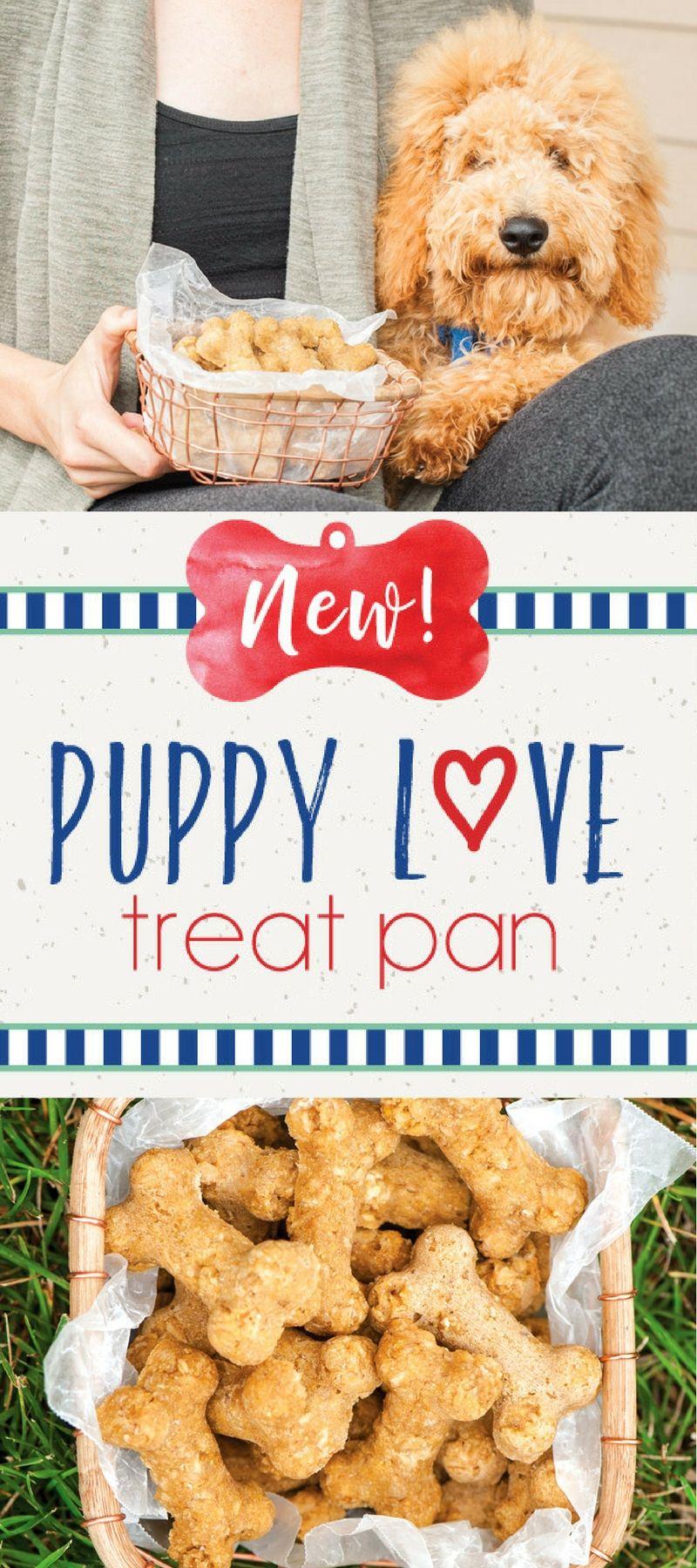 Puppy Love Treat Pan Dog Treats Grain Free Dog Snacks Homemade