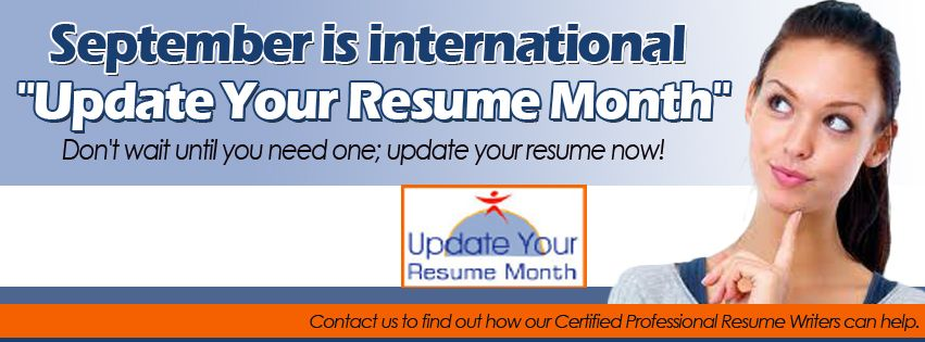 September is Update Your Resume Month Career Impressions - how to update your resume