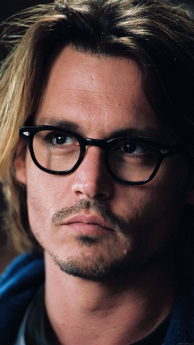 Hb14 Wallpaper Johnny Depp Glass Film Actor Face Johnny Depp Young Johnny Depp Johnny