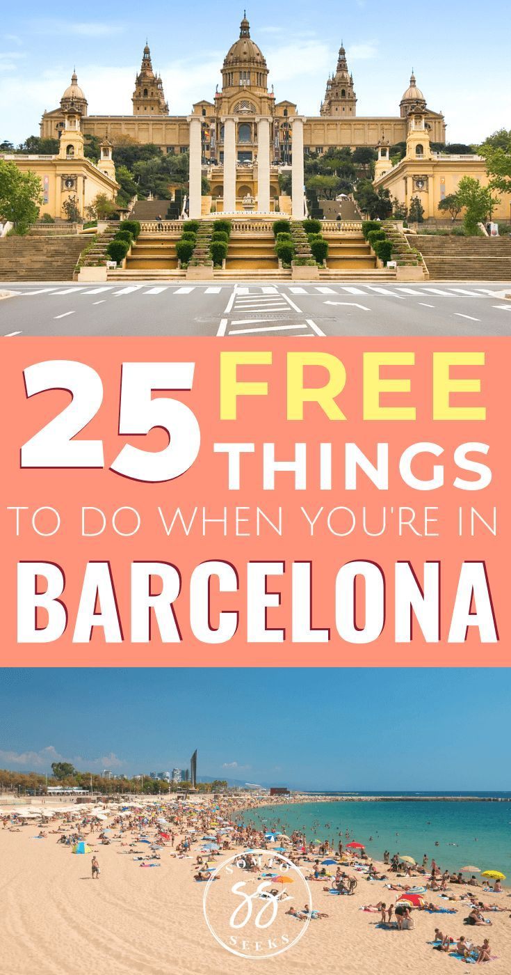 25 Free Activities To Do in Barcelona