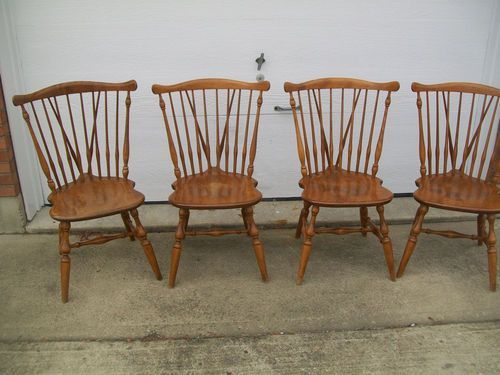 Braceback Fiddleback Duxbury Windsor Style By Ethan Allen Windsor Style Chairs Ethan Allen Dining Chair