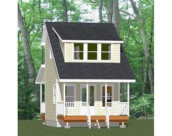 16x20 House -- 1-Bedroom 1-Bath -- 574 sq ft -- PDF Floor ...