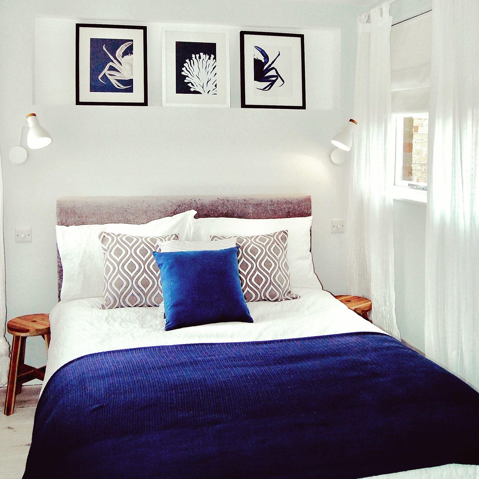 Scandinavian Bedroom Blue Accents Bedroom Grey And Navy Bedroom Neutral Grey And Navy Bedroom Scand Scandinavian Bedroom Blue Accents Bedroom Bedroom Accent