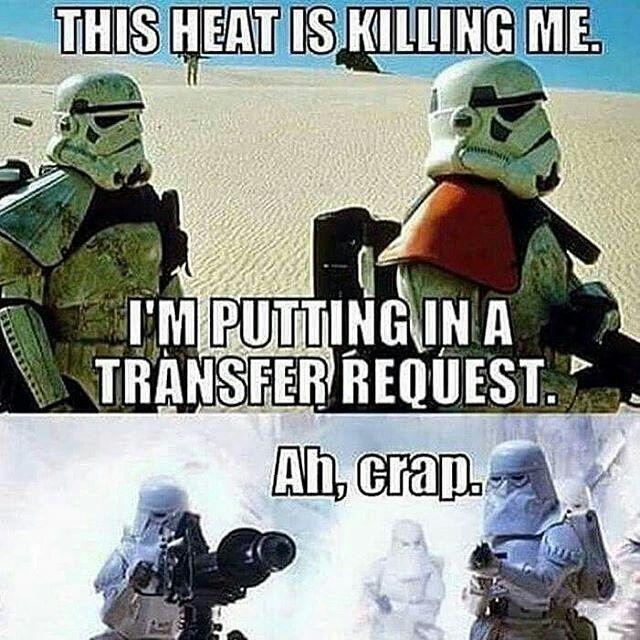 Stormtrooper Problems Credits Unknown Starwars Stormtrooper Stormtroopers Anewhope Thempirestrikesb Funny Star Wars Memes Star Wars Geek Star Wars Humor