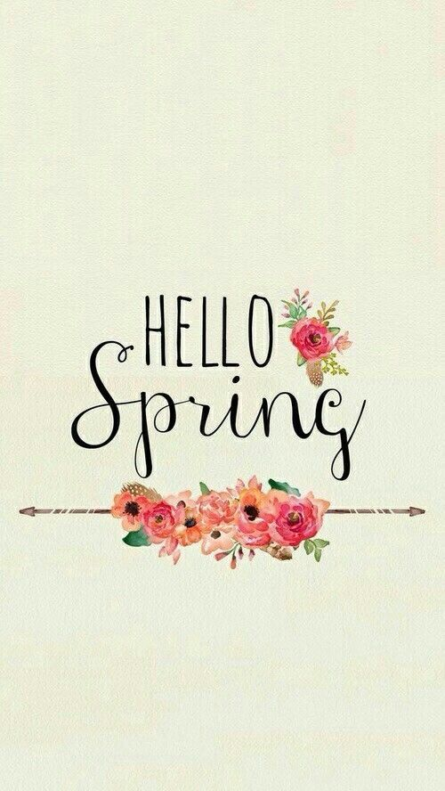 Hello Spring spring spring quotes hello spring