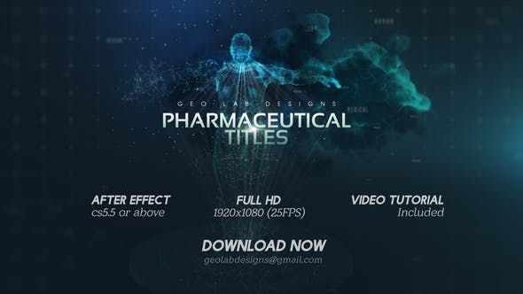 After Effect CS5.5 or Above Full HD (1920×1080) 25 FPS Video Tutorial Included 06 Text Placeholders  #body #cinematic#trailer #dark #epic #fitness #glitch #human #intro #medicine#product #particles #pharmaceutical #teaser #text #titles