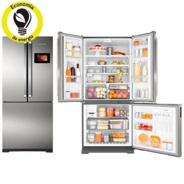 Refrigerador / Geladeira Brastemp Frost Free Side by Side Inverse 540 Litros Platinum com Wi-fi - BRN80