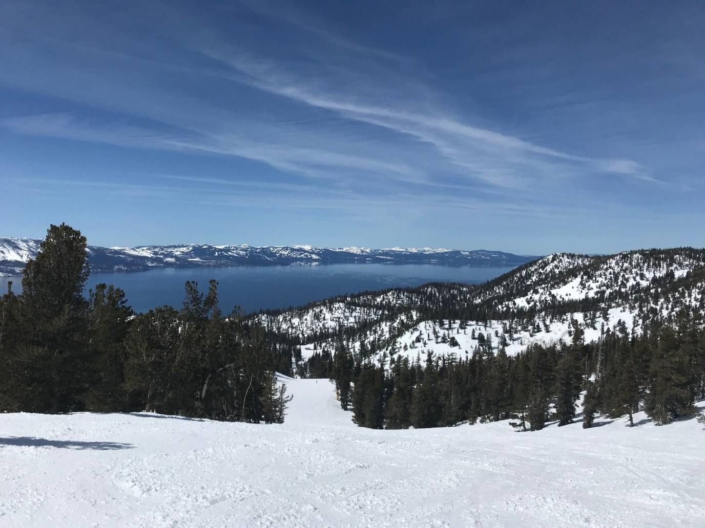 Lake Tahoe Nearly Full After Stormy Winter Potentially Enough Water For Three Summers Lake Tahoe Tahoe Tahoe City