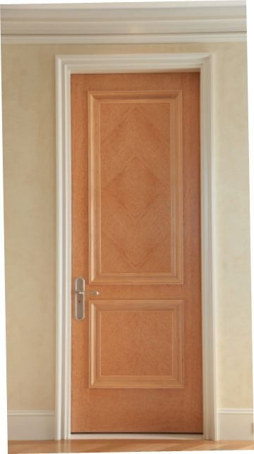 Interior Maple Door With Matching Trim Detail Interior Door Colors,  Interior Doors, Wood Doors