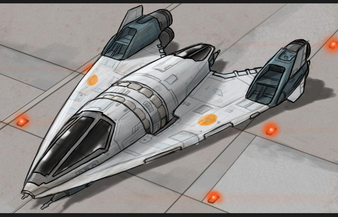 Star Wars Slayn-Korpil Fighter by *AdamKop on deviantART