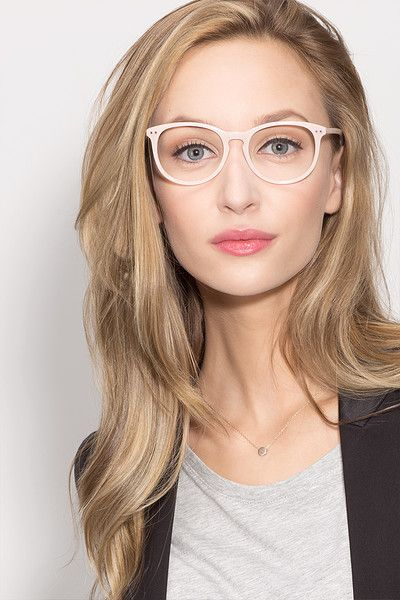 0e8ef8b8bb6d Fiction Pink Acetate Eyeglasses from EyeBuyDirect. Discover exceptional  style