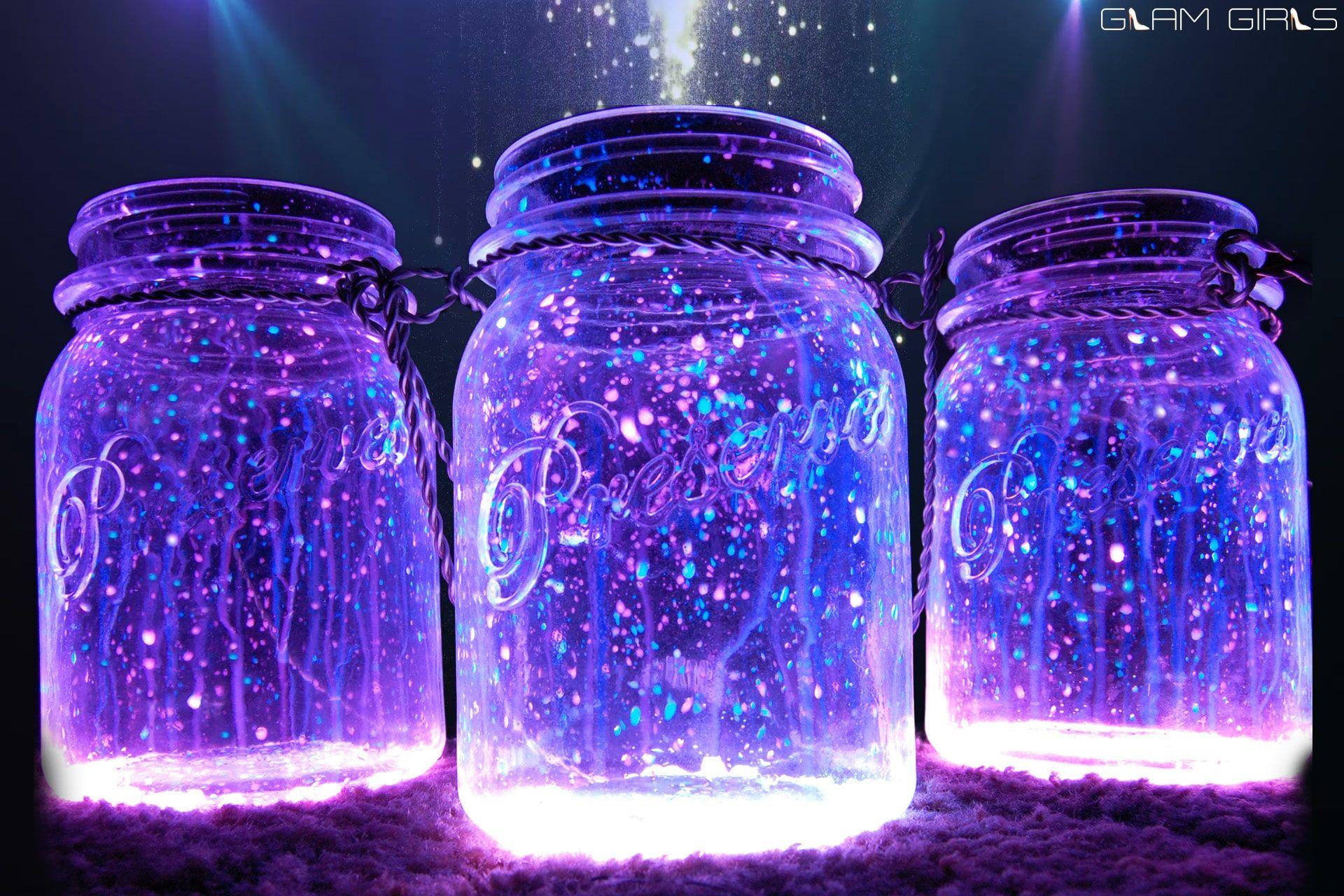 Szdajte Sami Prikazno Svetesh Burkan Ss Svetulki Glow Jars