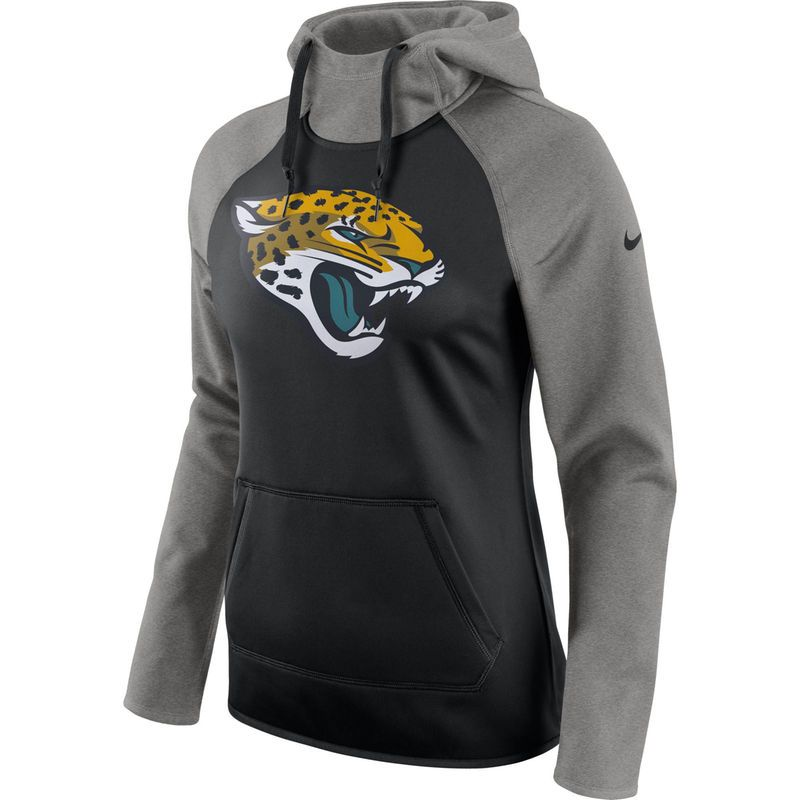 quality design 25359 fa920 Jacksonville Jaguars Nike Women's All Time Raglan Pullover ...