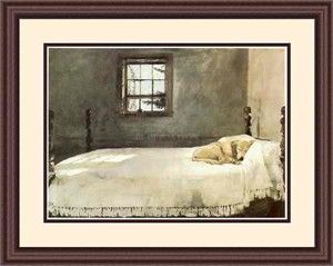 Andrew Wyeth. This is a familiar scene in my home.