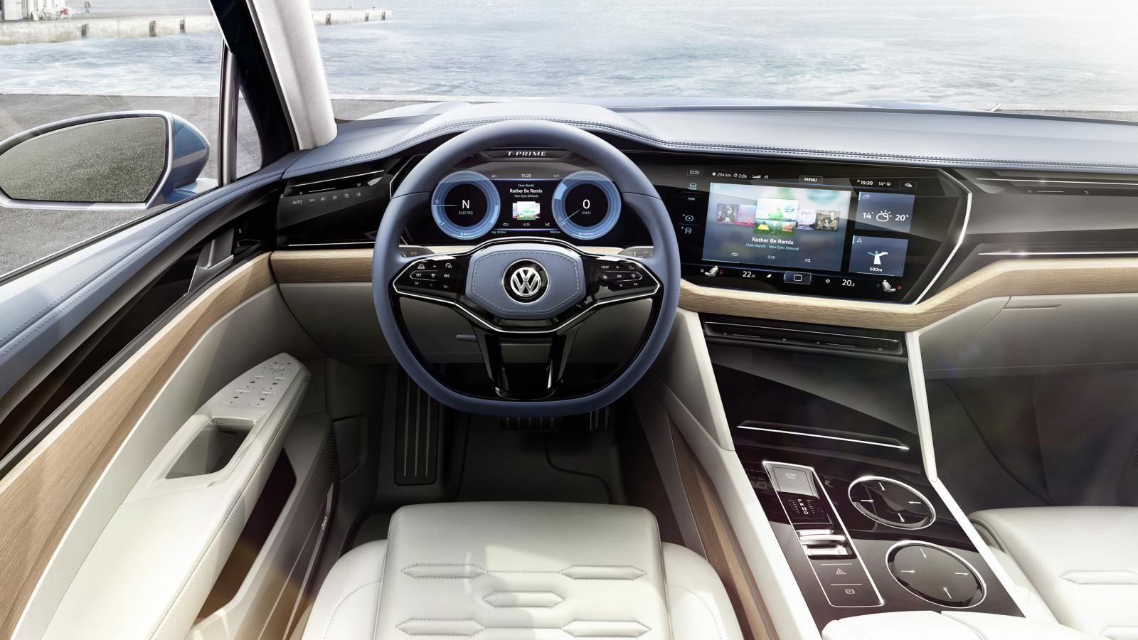 Volkswagen T-Prime Concept GTE tableau de bord