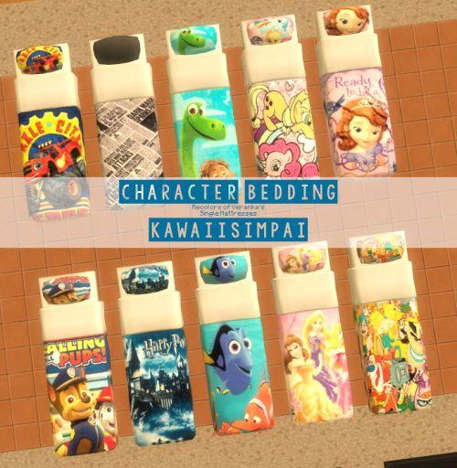 Sims 3 Cartoon Characters : Sims updates kawaiisimpaii objects decor character