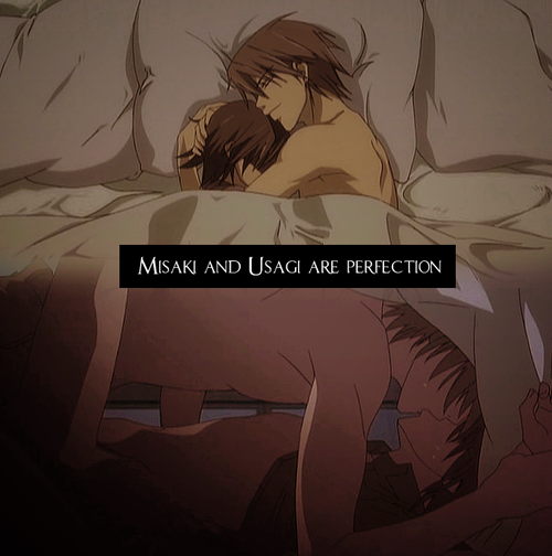 Their relationship is just so adorable. - Junjou Romantica
