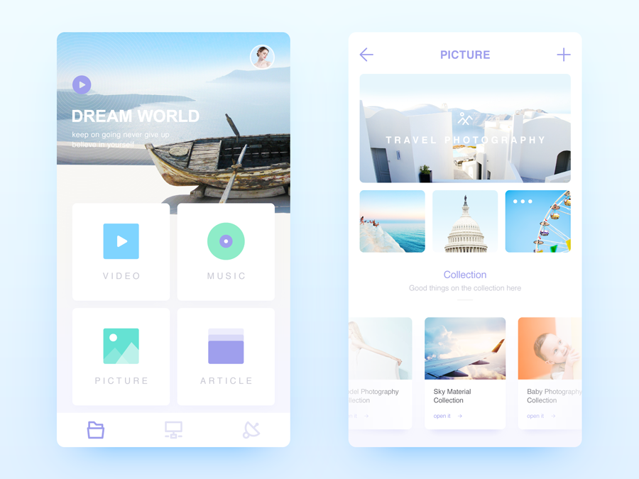 "查看我的 @Behance 项目:""Interface Design - Nov.""https://www.behance.net/gallery/46259291/Interface-Design-Nov"