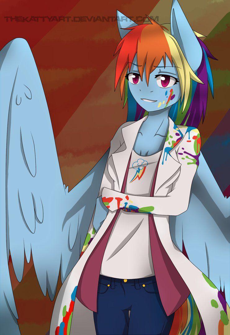 Rainbow Factory by TheKattyArt on deviantART   Ponypasta ...